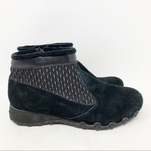 Skechers biker Ambiance suede ankle boots